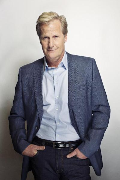 "Actor Jeff Daniels poses for a portrait, on Wednesday, June 19, 2013 in New York. Daniels says he will co-star with Jim Carrey in a sequel to the film ""Dumb and Dumber,"" called ""Dumb and Dumber To."" Daniels, who is known for critically acclaimed roles in ""The Squid and the Whale"" and ""The Purple Rose of Cairo,"" now stars in the HBO series ""The Newsroom,"" which returns for a second season on Sunday, July 14. (Photo by Victoria Will/Invision/AP)"
