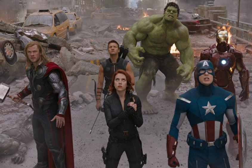'The Avengers' includes a star-studded cast Marvel Studios
