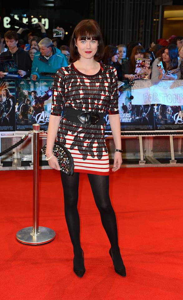 LONDON, ENGLAND - APRIL 19:  Jasmine Guinness attends Marvel Avengers Assemble European Premiere at Vue Westfield on April 19, 2012 in London, England. on April 19, 2012 in London, England.  (Photo by Gareth Cattermole/Getty Images)