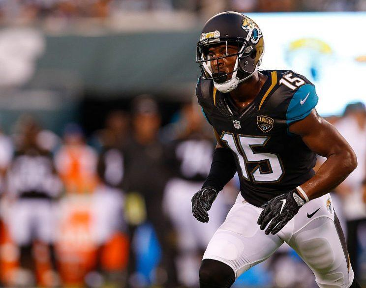 Allen Robinson highlights this week's look at recent fantasy risers and fallers (Photo by Rich Schultz/Getty Images)