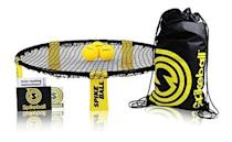 "<p><strong>Spikeball</strong></p><p>amazon.com</p><p><strong>$59.96</strong></p><p><a href=""https://www.amazon.com/dp/B002V7A7MQ?tag=syn-yahoo-20&ascsubtag=%5Bartid%7C10050.g.29775459%5Bsrc%7Cyahoo-us"" rel=""nofollow noopener"" target=""_blank"" data-ylk=""slk:Shop Now"" class=""link rapid-noclick-resp"">Shop Now</a></p><p>Here's another gift that'll be fun for the whole family: Spikeball! It's no surprise it's so popular.</p>"
