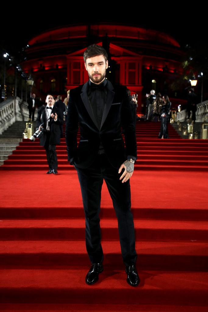 <p>Proving velvet is a failsafe during the festive season, Liam Payne wore a seriously covetable tux by Hugo Boss on the red carpet. <em>[Photo: Getty]</em> </p>