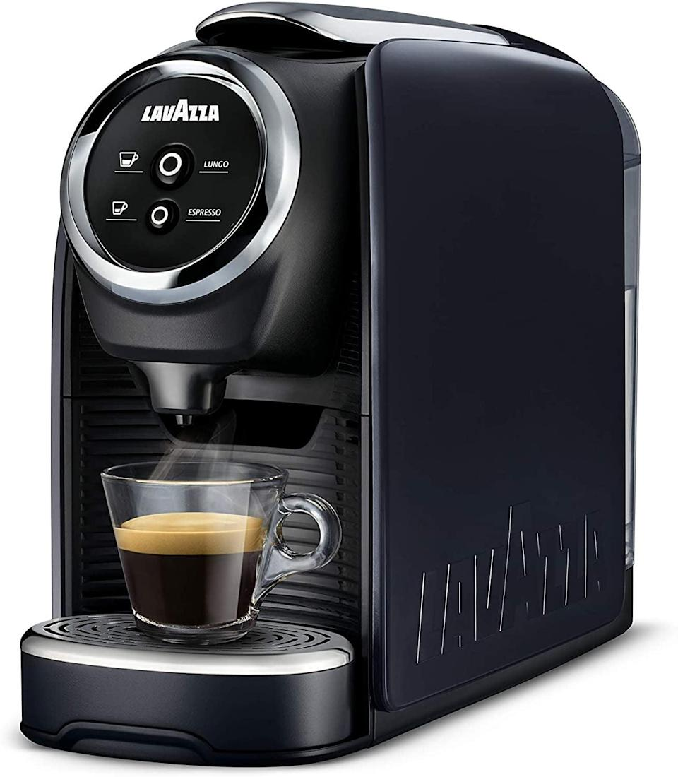 <p><span>Lavazza Single Serve Espresso Coffee Machine</span> ($103, originally $150)</p>