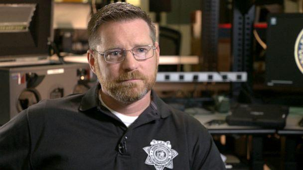 PHOTO:David Berry, a task force agent with the REACT Task Force, which is taking on the problem of SIM swapping. (ABC News)