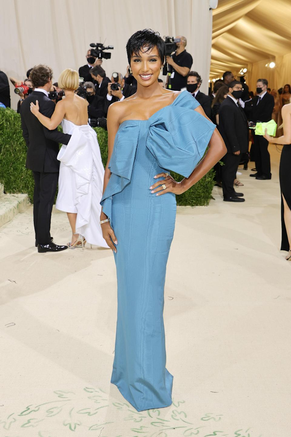 """<h1 class=""""title"""">Jasmine Tooks, The 2021 Met Gala Celebrating In America: A Lexicon Of Fashion - Arrivals</h1><cite class=""""credit"""">Getty</cite>"""