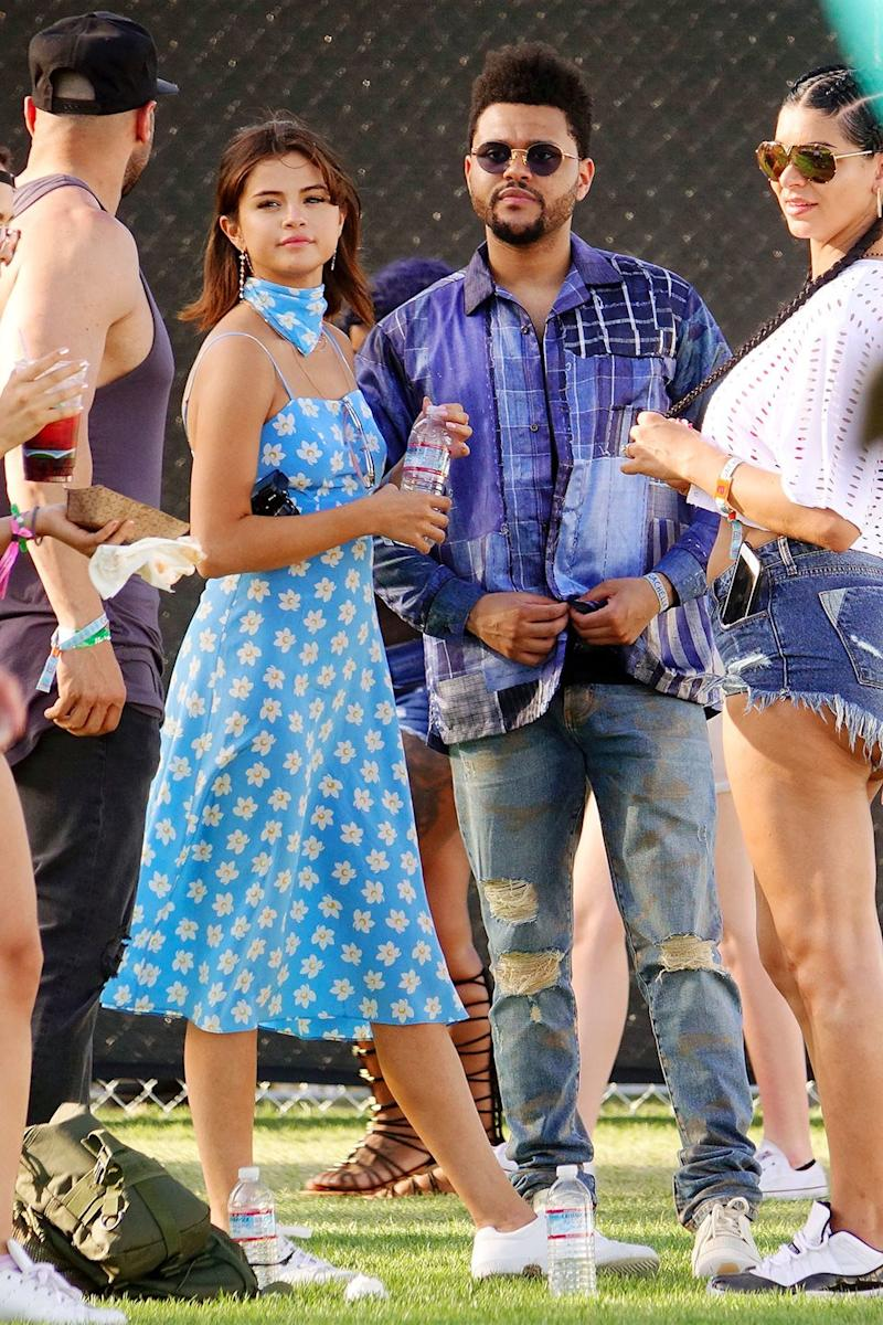 Selena Gomez and The Weeknd were the talk of Coachella, but in reality, all eyes were on Gomez in her floral HVN dress and matching scarf.