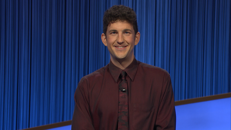 Matt Amodio is now the contestant with the second-most Jeopardy! wins. (Photo: ABC)