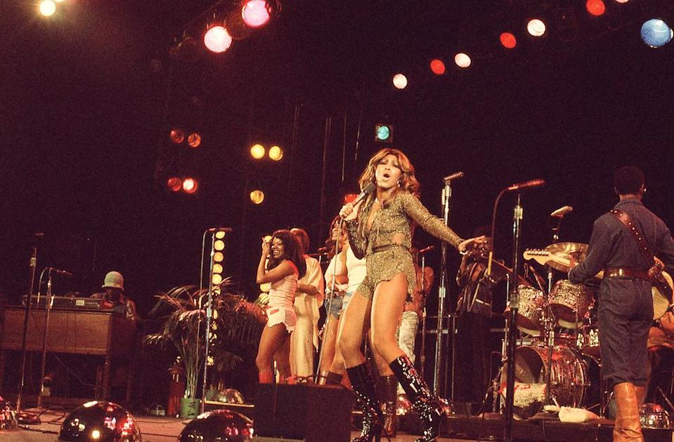 Tina and the Ikettes 1976