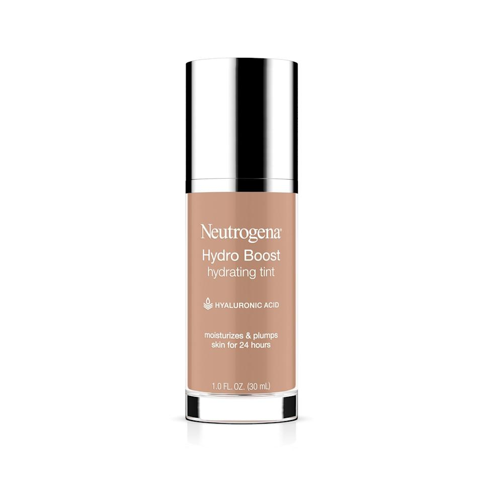 "<p><strong>Neutrogena</strong></p><p>amazon.com</p><p><strong>$10.05</strong></p><p><a href=""http://www.amazon.com/dp/B01HOI5JO2/?tag=syn-yahoo-20&ascsubtag=%5Bartid%7C10065.g.28506515%5Bsrc%7Cyahoo-us"" target=""_blank"">Shop Now</a></p><p>Not only does this foundation moisturize for the 24 hours that it will last on your face, but it plumps your skin at the same time, leaving your face feeling supple and flawless. </p>"