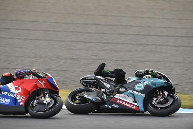 Morbidelli wanted to show Miller he was 'p***ed off'