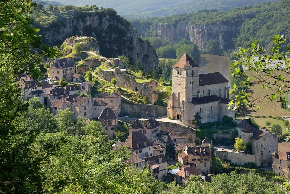 """<p>With their calm atmosphere and gentle pace of life, the villages dotted around the south west of France are one of Europe's timeless destinations. Surrounded by gorgeous countryside, they're full of charming local shops that have barely changed in decades, rustic squares with old fountains and lovely period townhouses.</p><p>The whole region is full of intriguing history, and has also gained a reputation around the world for the delicious food and drink it produces - from award-winning wine to rich cheeses. Inspiring architecture like the Basilique Saint-Sernin in Toulouse only adds to the magic of the scenery.</p><p>Chocolat author Joanne Harris will be showing literary fans around the region in July 2022 and give creative writing tips during a special talk.</p><p><a class=""""link rapid-noclick-resp"""" href=""""https://www.goodhousekeepingholidays.com/tours/southwest-france-tour-joanne-harris"""" rel=""""nofollow noopener"""" target=""""_blank"""" data-ylk=""""slk:FIND OUT MORE"""">FIND OUT MORE</a></p>"""