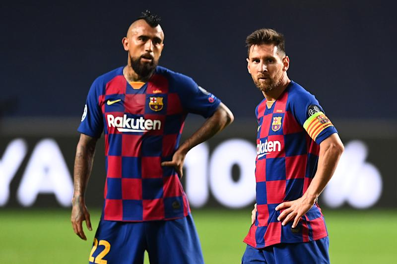 Barcelona lost 8-2 to Bayern Munich on Friday, but its new reality has been apparent for quite some time. (Photo by Michael Regan - UEFA/UEFA via Getty Images)