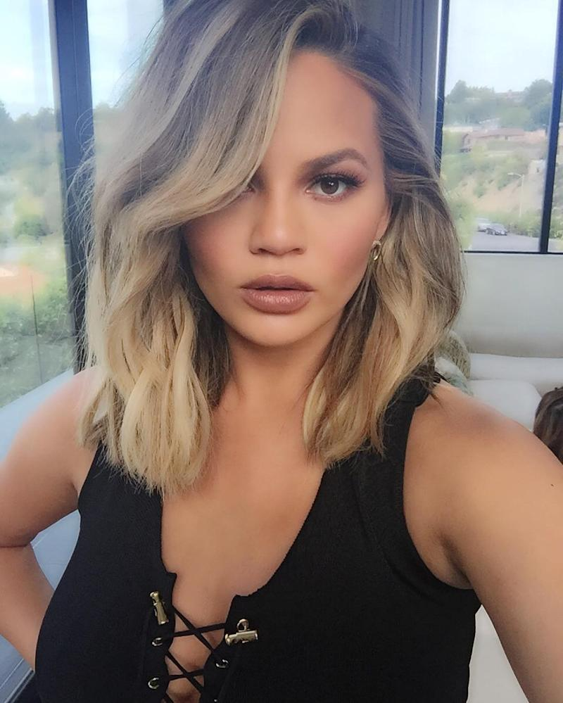 Chrissy Teigen Gets Real About Her Body Insecurities with Mom Bod Video