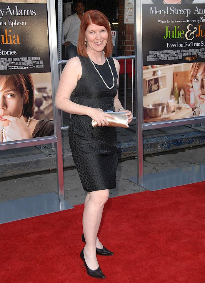 "<a href=""http://movies.yahoo.com/movie/contributor/1809019783"">Kate Flannery</a> at the Los Angeles premiere of <a href=""http://movies.yahoo.com/movie/1810006886/info"">Julie & Julia</a> - 07/27/2009"