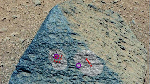 Mars Rover Discovers Earth-Like Rock