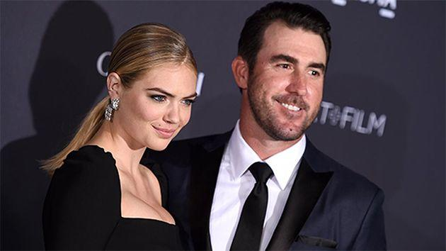 Kate Upton jumped to the defence of her man Justin Verlander. Photo: AAP