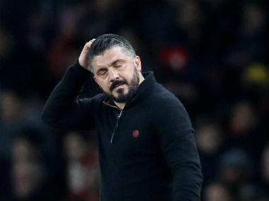 "Gennaro Gattuso revealed his ""incredible shame"" after Saturday's humiliating 1-0 defeat to Benevento at the San Siro saw AC Milan become the first team to fail to beat the tailenders this season."