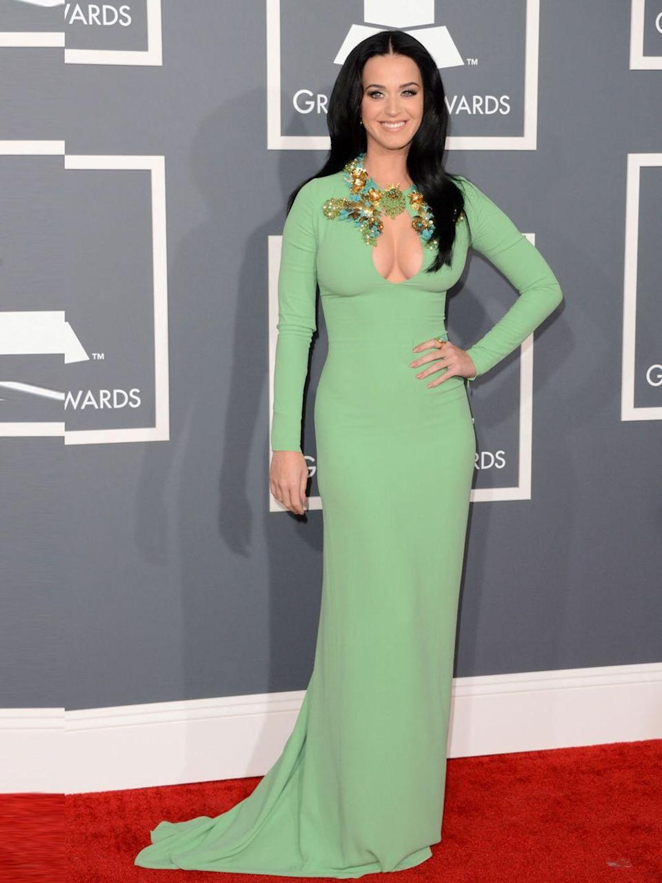 <p>Katy Perry wears Gucci.</p>