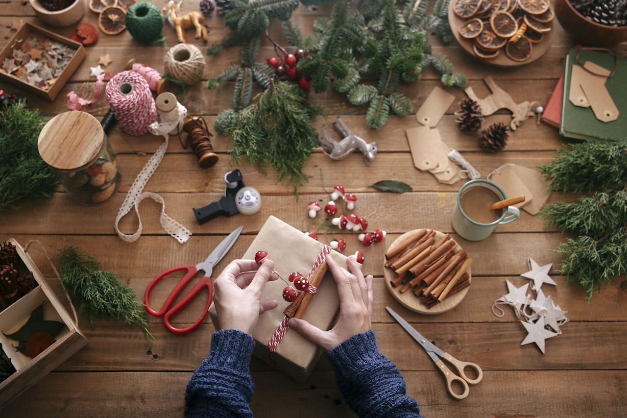 "<p>Why bother with DIY Christmas gifts, you ask? Because Christmas presents just mean so much more when they're homemade, that's why. Your friends and family know you had to spend a little more time on them, and that thoughtfulness is always appreciated. Enter our list of the ultimate, most creative DIY Christmas gifts around. They're <a href=""https://www.countryliving.com/shopping/gifts/g1542/christmas-gifts-for-mom/"">perfect for Mom</a>, <a href=""https://www.countryliving.com/life/g4364/fathers-day-gifts-from-daughter/"">for Dad</a>, for friends, for <a href=""https://www.countryliving.com/shopping/gifts/g1546/gifts-for-kids/"">sons and daughters</a>, <a href=""https://www.countryliving.com/shopping/gifts/g2856/christmas-gifts-for-neighbors/"">for neighbors</a>, and everyone in between. Whether you use them as <a href=""http://www.countryliving.com/shopping/gifts/g2190/stocking-stuffers/"">fun stocking stuffers</a> or <a href=""https://www.countryliving.com/shopping/gifts/g1340/hostess-gift-ideas/"">easy-to-make hostess gifts</a>, we have a gift for everyone on your list. And yes, we've even got you covered when it comes to finding the perfect DIY Christmas gifts for your boyfriend. How will he be able to resist a sweet cross-stitched truck or a handmade mason jar coaster? We've also rounded up a few out-of-this-world <a href=""https://www.countryliving.com/food-drinks/g1059/homemade-food-gifts/"">delicious DIY Christmas food gifts</a>, like a <a href=""https://www.countryliving.com/food-drinks/g1036/easy-christmas-desserts/"">homemade dark chocolate toffee</a> that'll leave your recipient craving more and a set of flavored salts that <a href=""https://www.countryliving.com/food-drinks/g647/holiday-cookies-1208"">even the more sophisticated foodies</a> will appreciate. Short on time this year? We can help you out with that too! Cute crocheted cozies, DIY stovetop potpourri, and a ""Christmas tea tree"" are just a few of the ideas on our list that take minimal effort—but still allow you to claim DIY status.<br></p>"