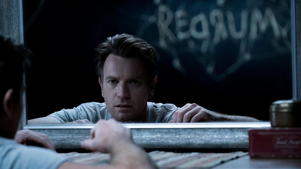 """Following <em>The Shining</em> is no easy task, particularly as Stephen King can't stand it, but Mike Flanagan pulls it off with <em>Doctor Sleep</em>. Ewan McGregor plays an older Danny Torrance, trying to rescue a young girl from the clutches of soul-sucking villain Rose the Hat, who we promise is scarier than she sounds. It's the year's best King adaptation, and <a href=""""https://uk.movies.yahoo.com/stephen-king-says-doctor-sleep-movie-has-redeemed-kubricks-the-shining-for-him-132109332.html"""" data-ylk=""""slk:even the author himself is happy;outcm:mb_qualified_link;_E:mb_qualified_link;ct:story;"""" class=""""link rapid-noclick-resp yahoo-link"""">even the author himself is happy</a>. (Credit: Warner Bros)"""