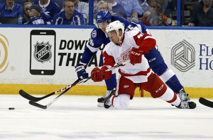 Like Tampa Bay star Tyler Johnson, Glendening was never drafted and had to earn his way to the NHL. (Getty)