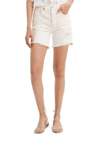 "Normally $70, these <a href=""https://yhoo.it/3gDHBon"" rel=""nofollow noopener"" target=""_blank"" data-ylk=""slk:Levi's 501 High Waist Cutoff Denim Shorts"" class=""link rapid-noclick-resp"">Levi's 501 High Waist Cutoff Denim Shorts</a> are <a href=""https://yhoo.it/3gDHBon"" rel=""nofollow noopener"" target=""_blank"" data-ylk=""slk:on sale for $63 at Nordstrom"" class=""link rapid-noclick-resp"">on sale for $63 at Nordstrom</a>."