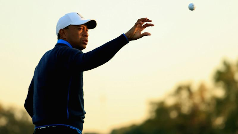 Masters 2018: Tiger Woods starts Round 1 with missed fairway