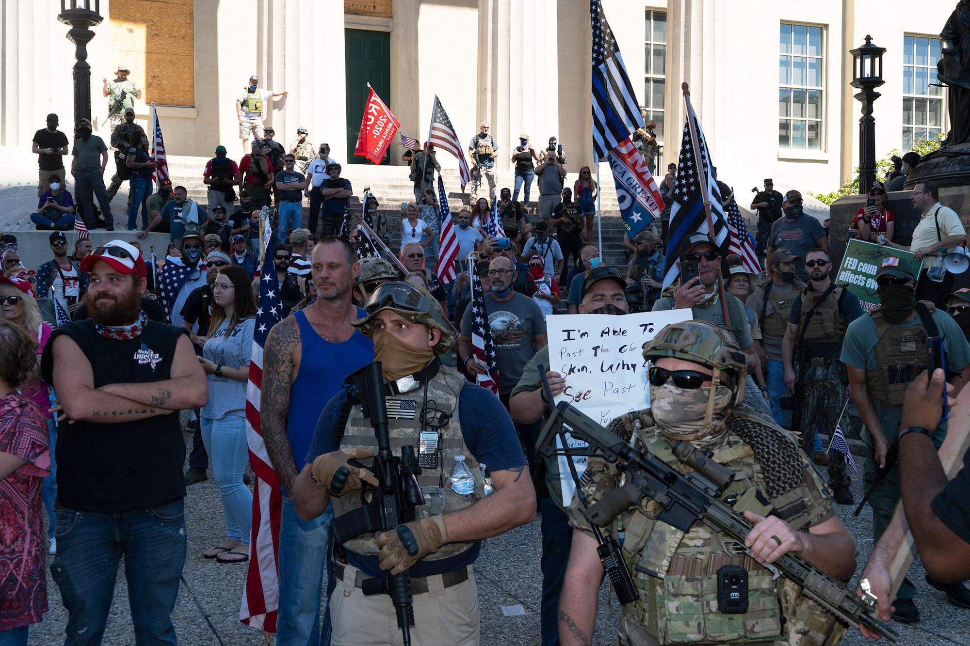 Armed Right-Wing Groups Aren't 'Militias'—We Need to Stop Calling Them That
