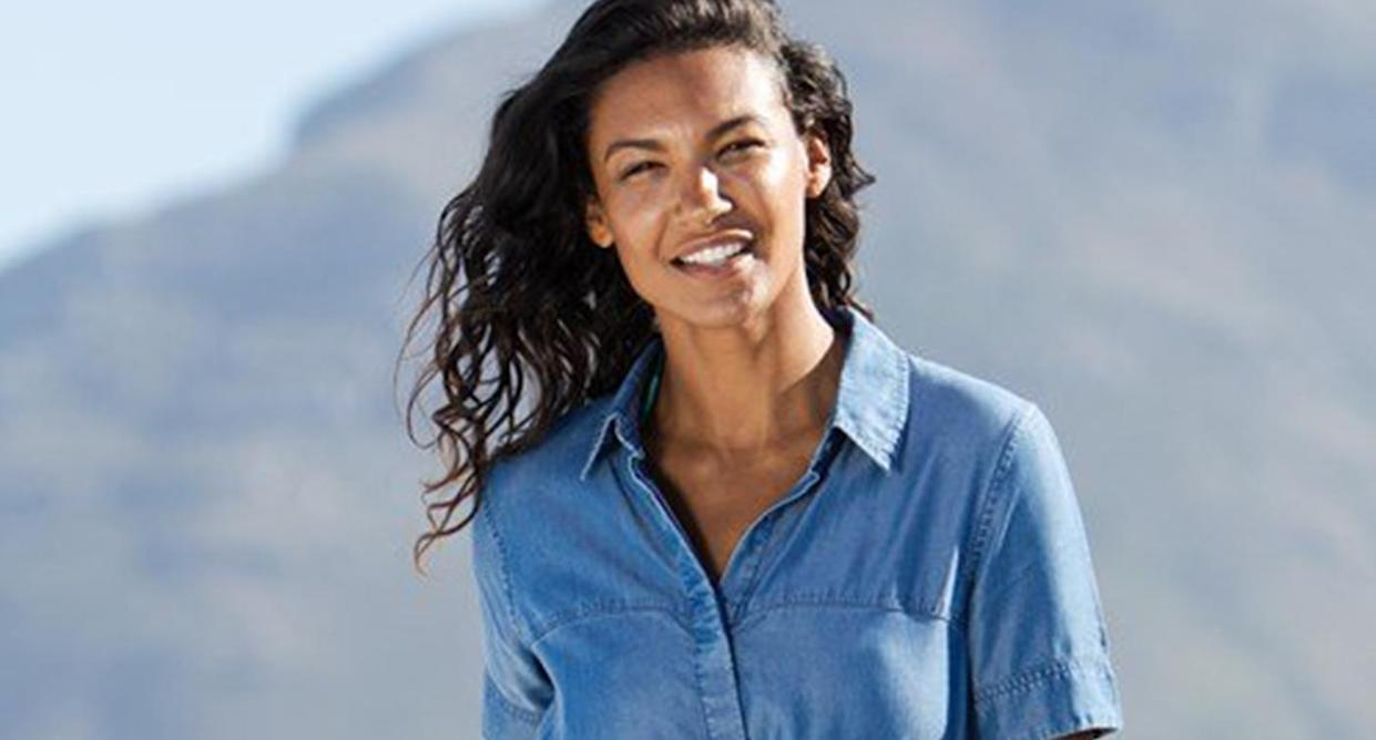 Mountain Warehouse has 50% off items in its epic sale, including summer dresses. (Mountain Warehouse)