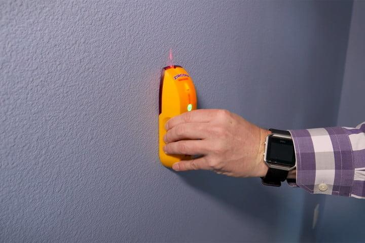 Image result for Tricks and tips for using a stud finder for wall mounting a TV