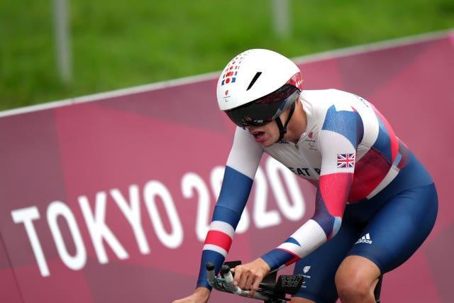 Great Britain's Benjamin Watson won gold in Tokyo after becoming a full-time cyclist in 2018