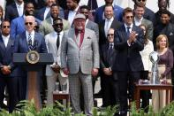 U.S. President Biden welcomes Super Bowl champion Tampa Bay Buccaneers at the White House