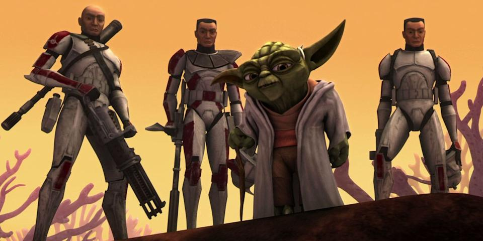 'Star Wars: The Clone Wars' (credit: Disney)