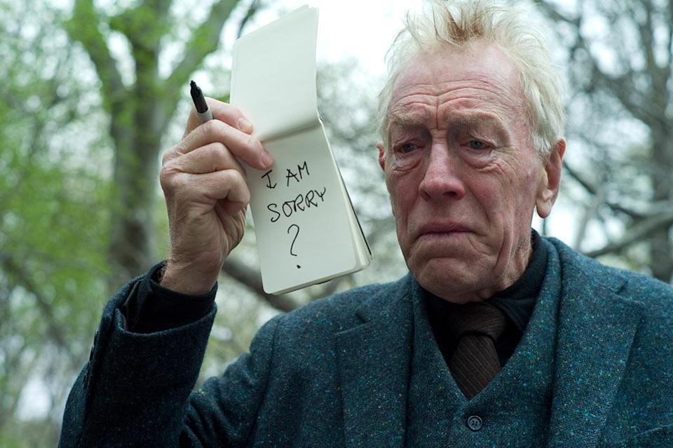 """Max Von Sydow is nominated for best supporting actor in """"Extremely Loud and Incredibly Close."""""""