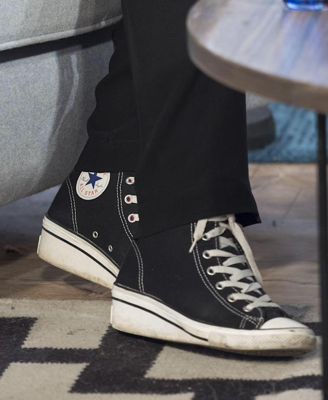 <p><strong>Top footwear brands</strong><br>No. 4: Converse<br>7 per cent of teens<br>(Canadian Press) </p>