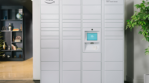 Amazon quietly rolls out The Hub, a locker system for private residences