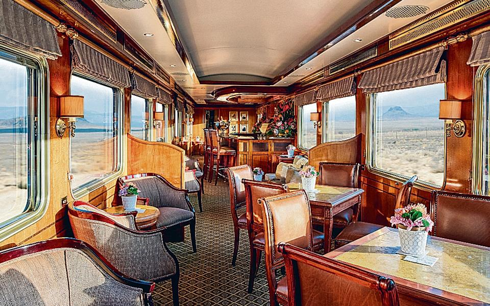 Step back into agolden age of travel on theBlue Train fromPretoria to Cape Town - simz