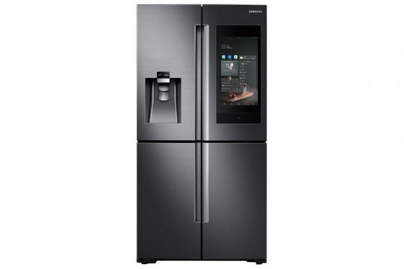 The Samsung Family Hub fridge offers an idea of how connected devices can improve your life (Samsung)