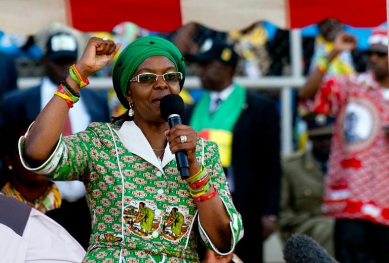 Grace Mugabe, the wife of Zimbabwean President Robert Mugabe, allegedly attacked a 20-year-old model with an electrical extension cord at a hotel in Johannesburg where the couple's two sons were staying