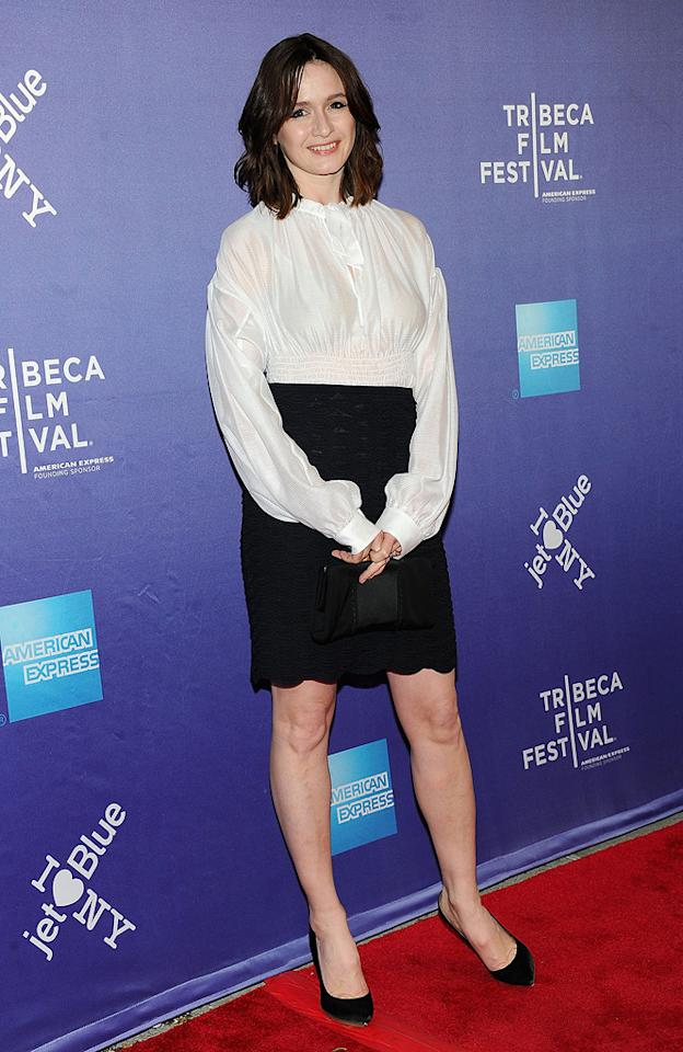 """<a href=""""http://movies.yahoo.com/movie/contributor/1800265683"""">Emily Mortimer</a> attends the 10th Annual Tribeca Film Festival premiere of """" Janie Jones"""" on April 29, 2011."""