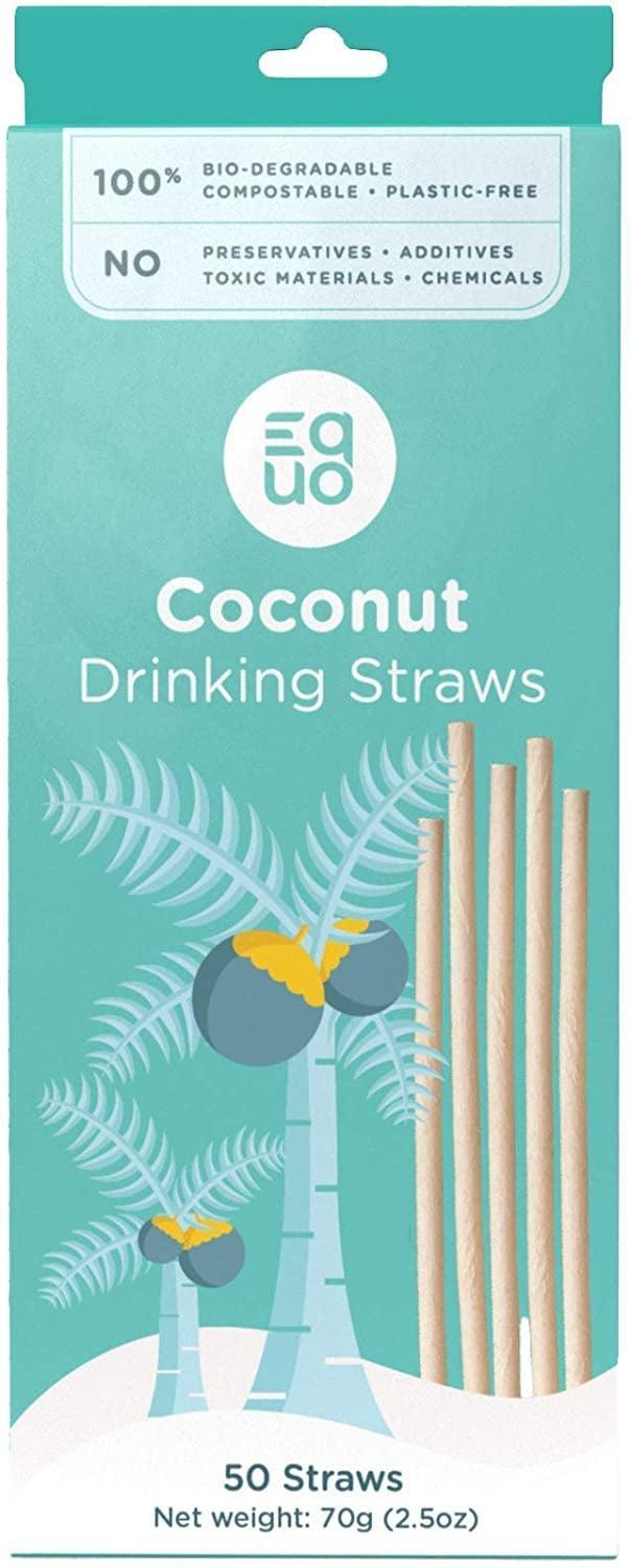<p>The <span>- EQUO Sustainable Coconut Straws </span> ($13) is 100 percent biodegradable, natural, compostable, and plastic-free. It's an eco-friendly way to incorporate disposable straws.</p>