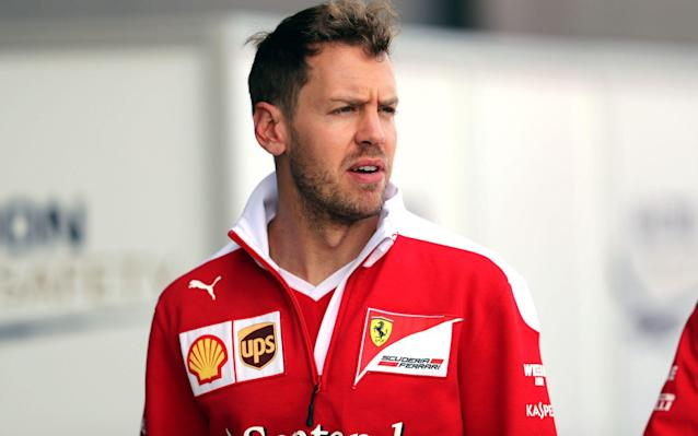 <span>Vettel is keeping a lid on his feelings, according to Hamilton</span> <span>Credit: David Davies/PA </span>