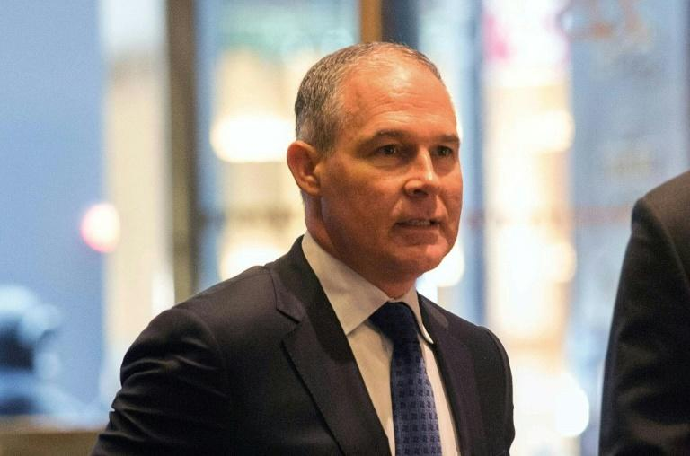 Oklahoma Attorney General Scott Pruitt, who was tapped by US President-elect Donald Trump to lead the Environmental Protection Agency, drew outrage from Trump opponents