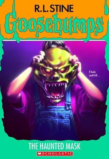 """""""Goosebumps: The Haunted Mask,"""" by R.L. Stine"""