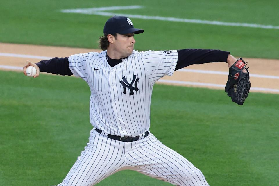 Gerrit Cole is in the second year of his deal with the Yankees.