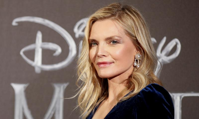 "Actor Michelle Pfeiffer poses as she attends the European premiere of ""Maleficent: Mistress of Evil"" in Rome, Italy, October 7, 2019. REUTERS/Yara Nardi"