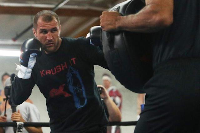 Although he wasn't at the top of his game, Sergey Kovalev believes he beat Andre Ward in their first fight. (Getty Images)