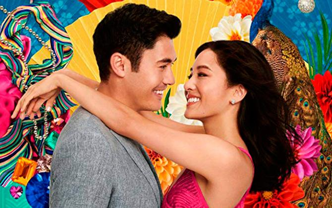 Imagen del cartel promocional de Crazy Rich Asians