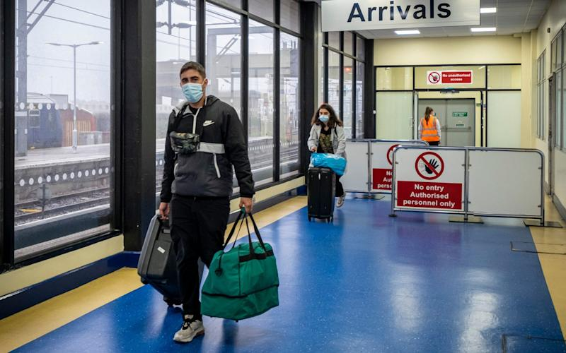 Around 500,000 Britons are on holiday in countries on the quarantine list