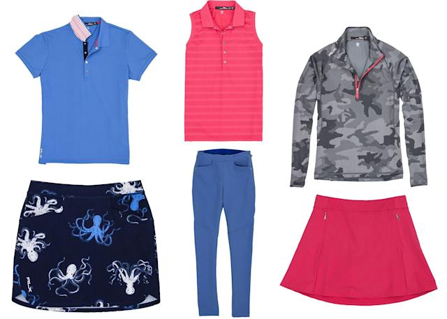 Expect octopus prints,camo and thoughtful pops of color in Horschel's first apparel line